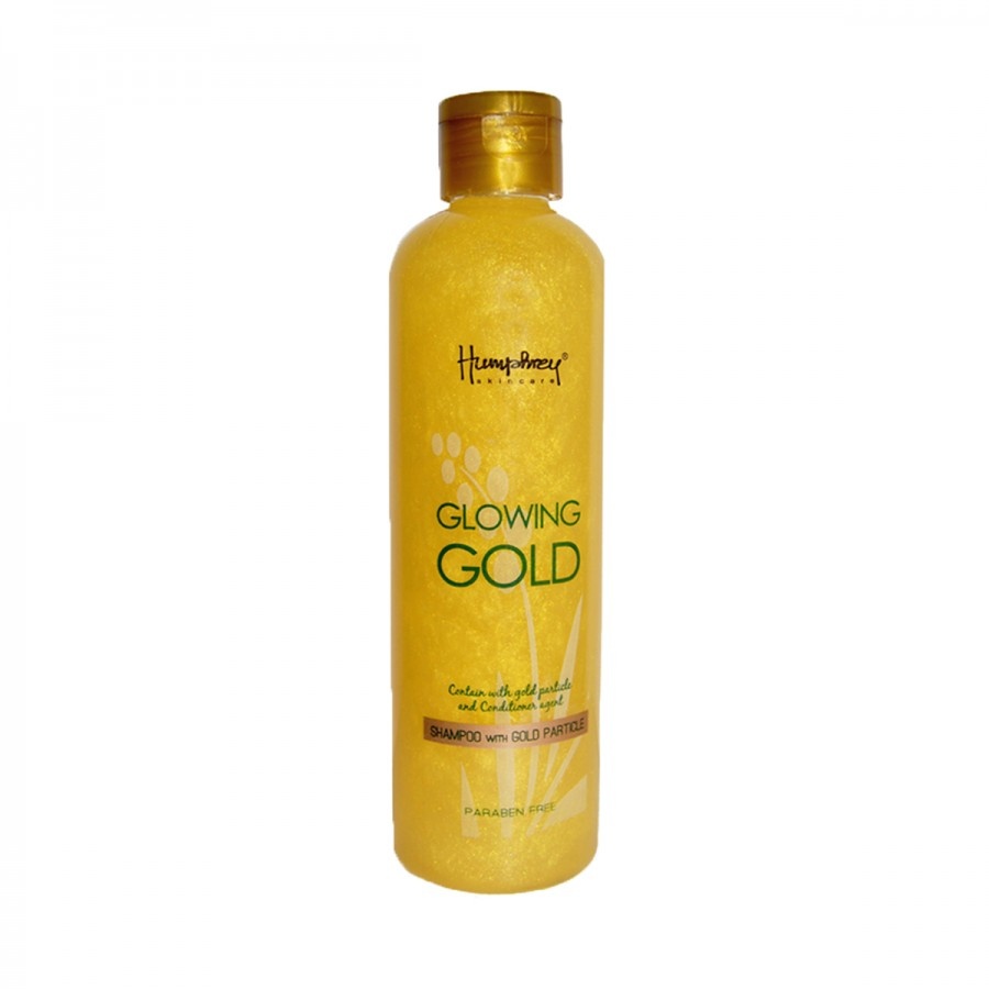 "Skin care Glowing Gold ""Anti Aging"" Shampoo"