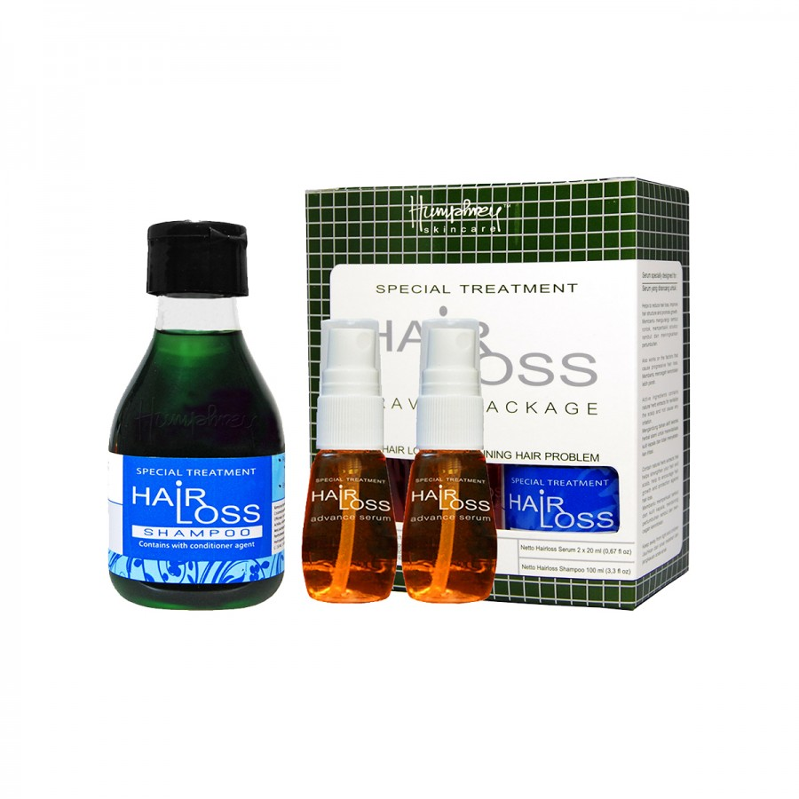 Hairloss Travel Package (Shampoo + Serum)