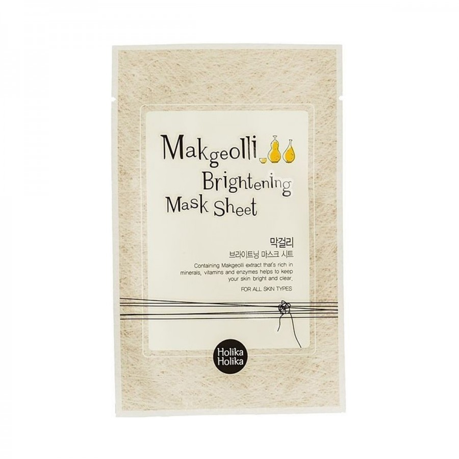 Makgeolli Brightening Mask Sheet