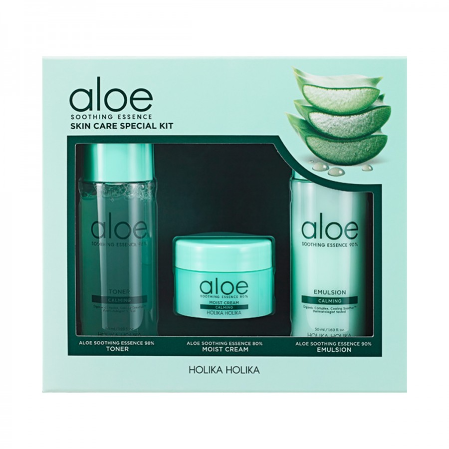 Aloe Soothing Essence Skin Care Special Kit
