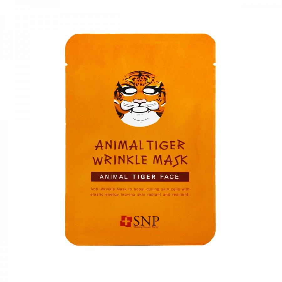 Animal Tiger Wrinkle Mask
