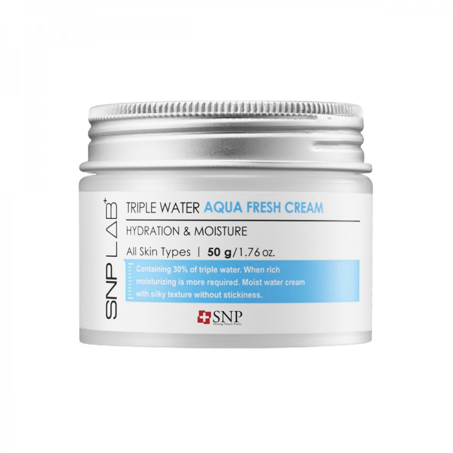 SNP Lab+ Triple Water Aqua Fresh Cream