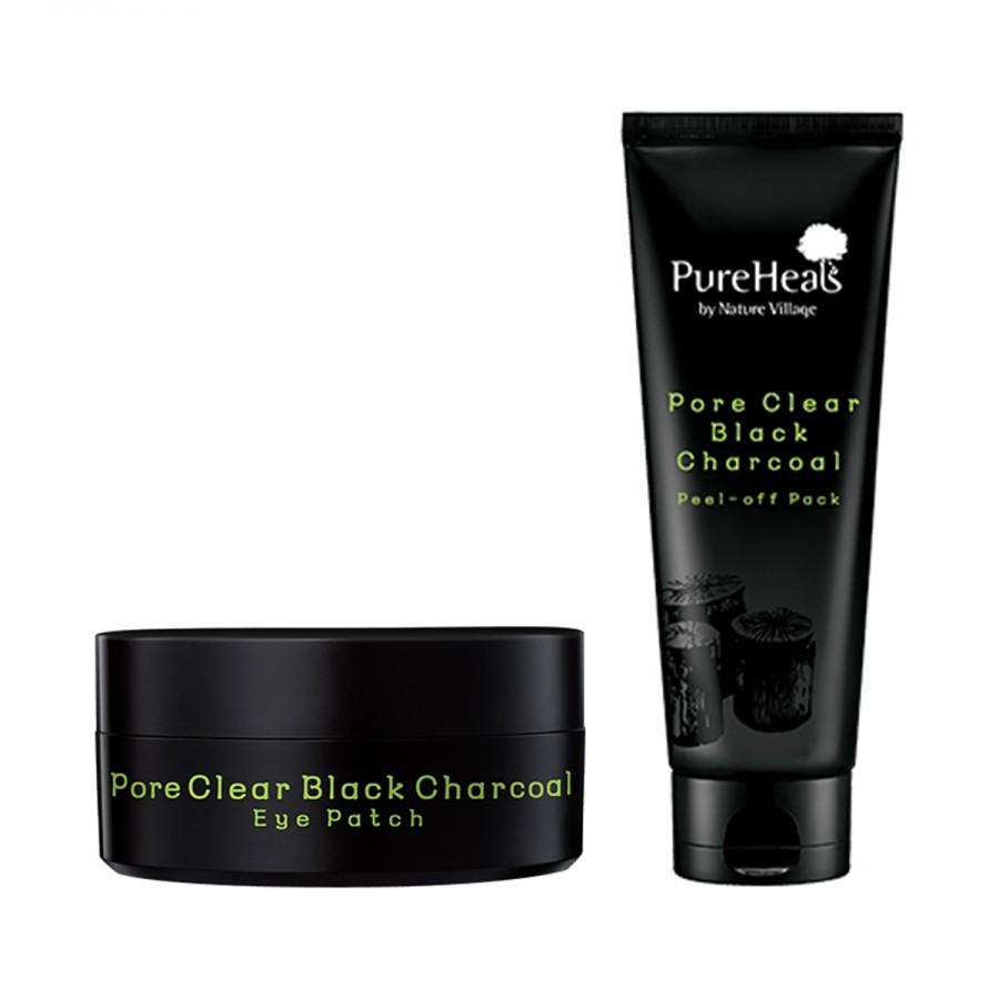 Pore Clear Black Charcoal Set