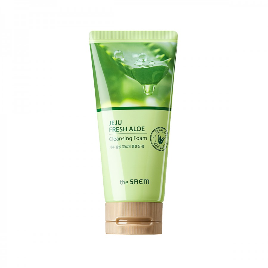Jeju Fresh Aloe Cleansing Foam