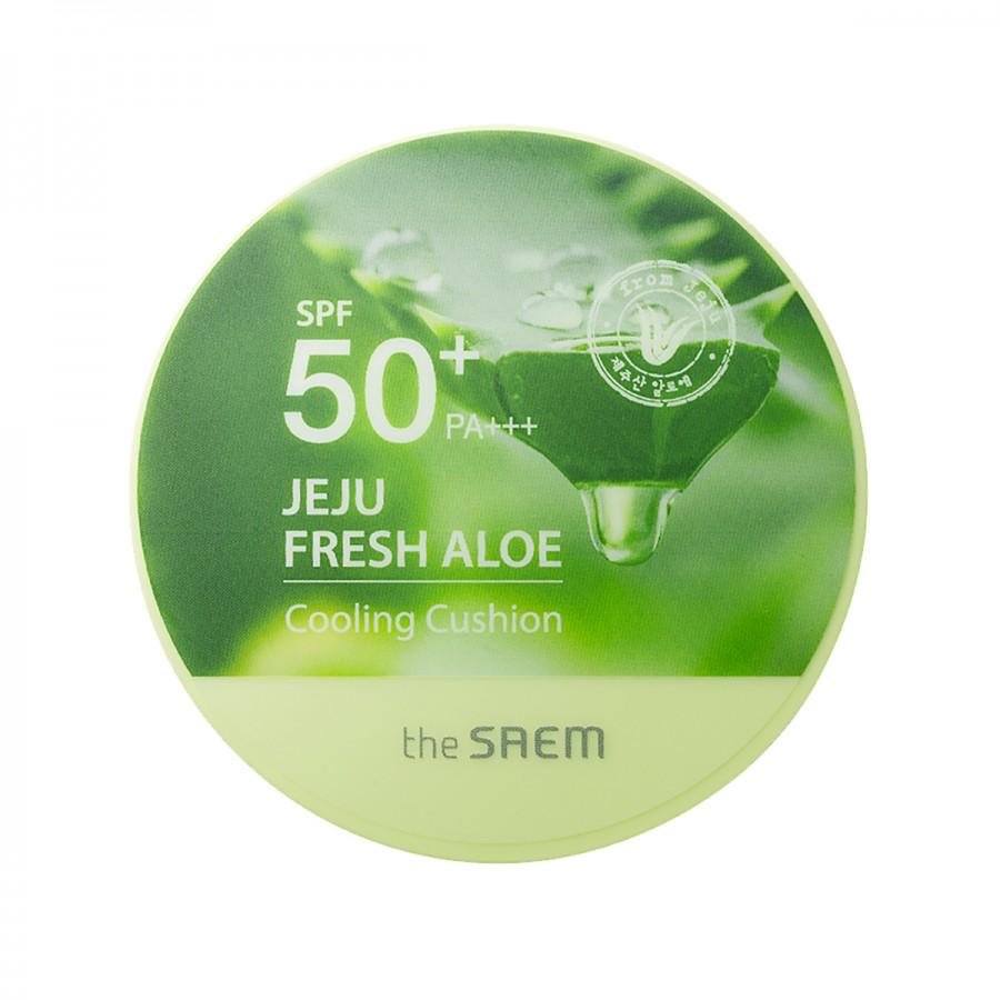 Jeju Fresh Aloe Cooling Cushion Natural Beige