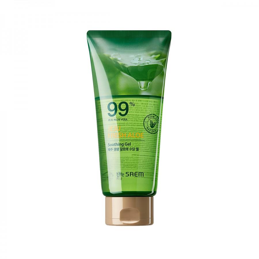 Jeju Fresh Aloe Soothing Gel 99% Tube 300 ml