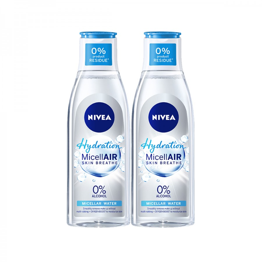 Jual Nivea NIVEA Micellair Hydration Twin Pack | Sociolla