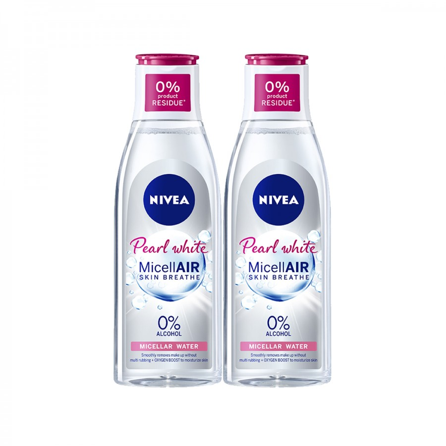 NIVEA Pearly White Twin Pack