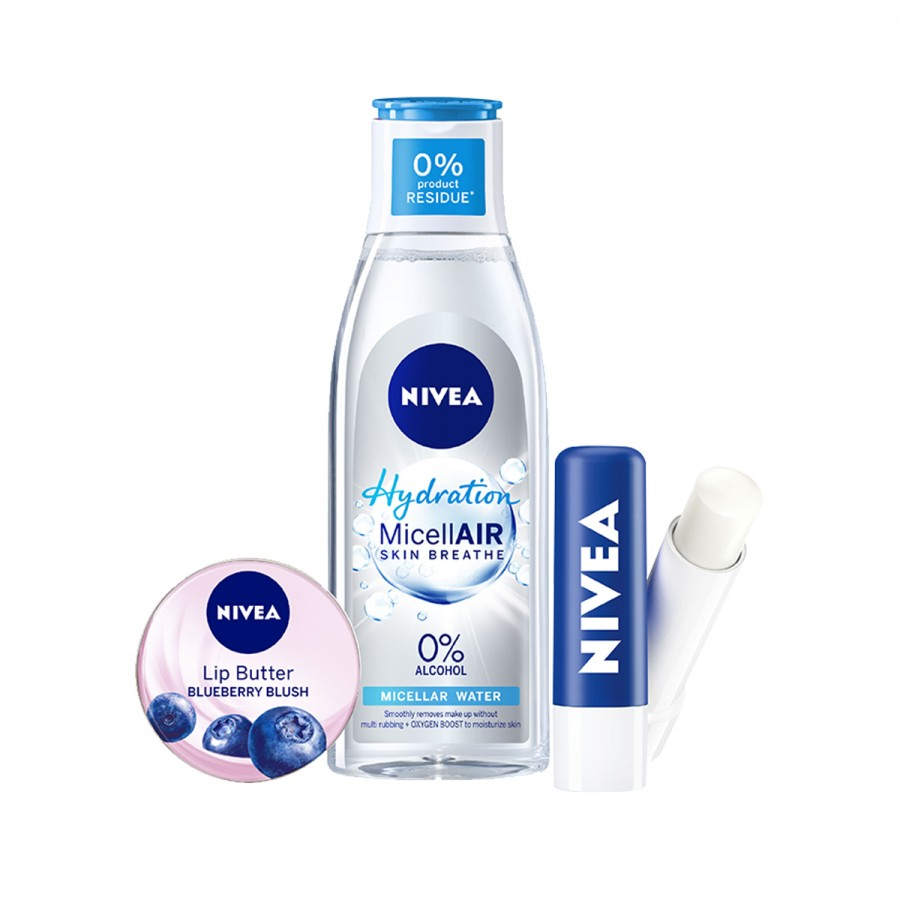 NIVEA Micellair Hydration And NIVEA Lip Care Pack