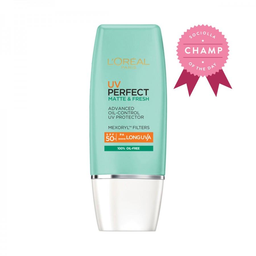 UV Perfect Matte & Fresh SPF 50/PA++++