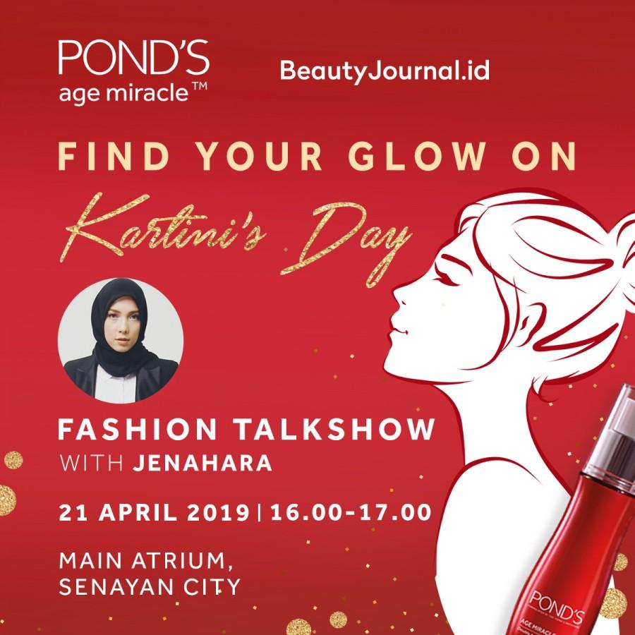 POND'S Talkshow Fashion With Jenahara