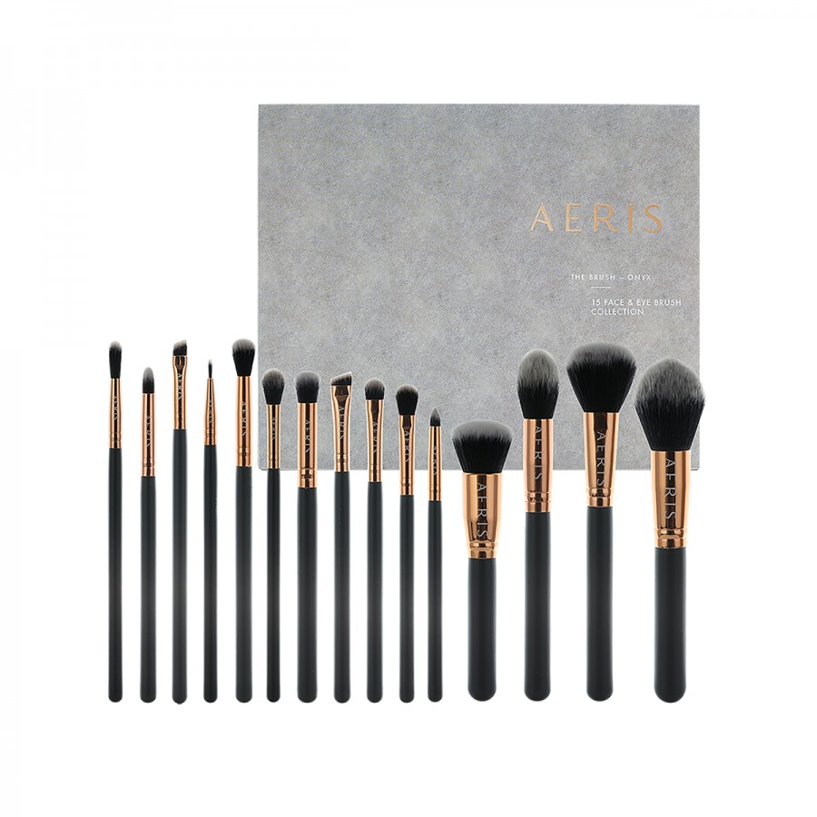 Onyx 15 Face & Eye Brush Set