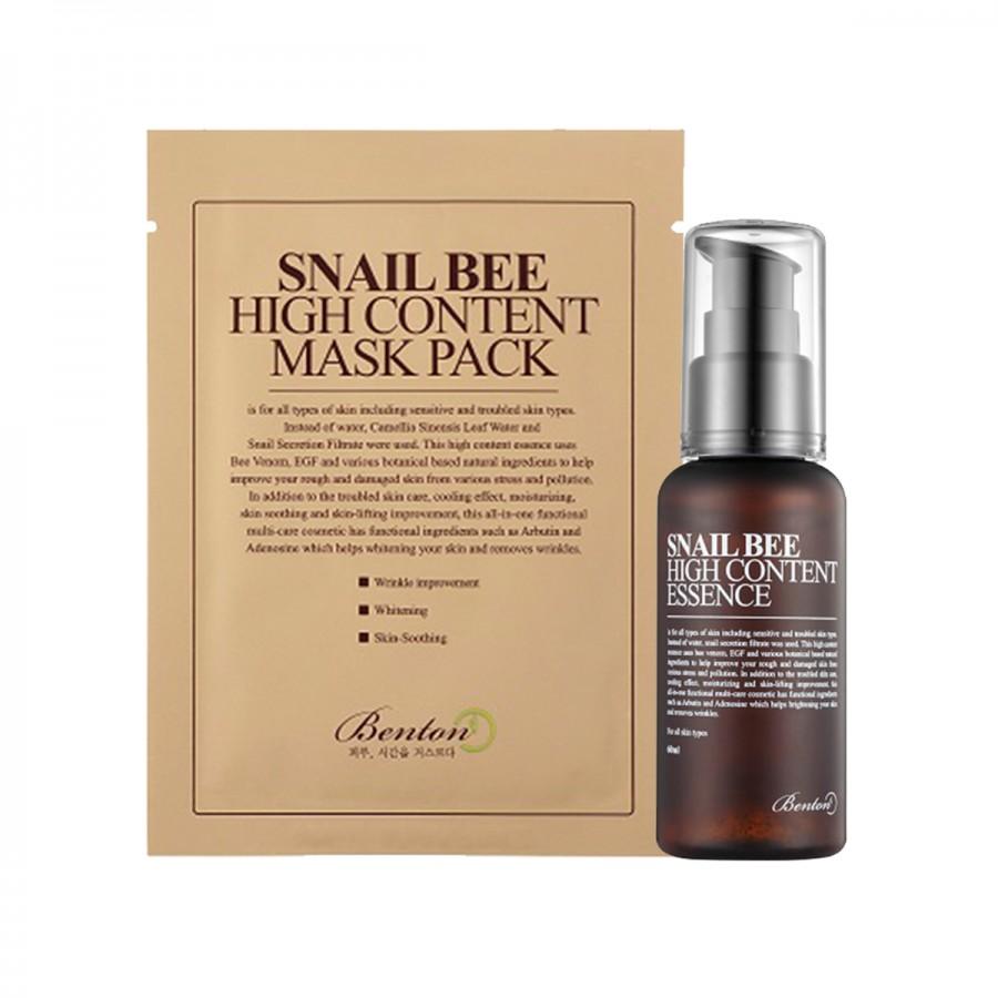 Snail Bee Set