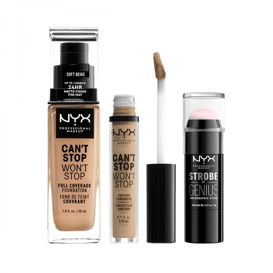 Jual Nyx Professional Makeup Cant Stop Wont Stop Set 2 Sociolla