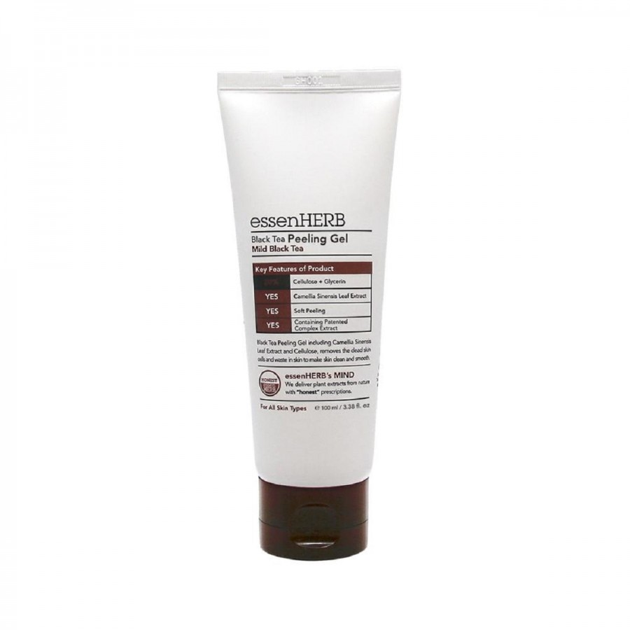EssenHerb BLACK TEA Peeling Gel