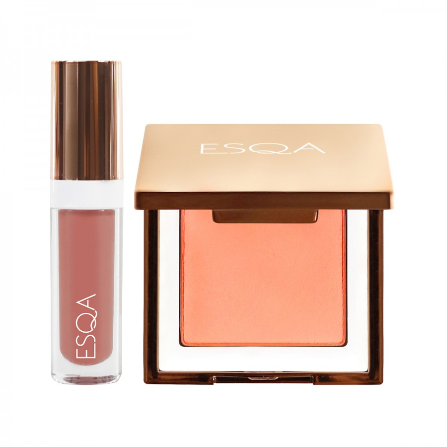ESQA Travel Bundle Lip Gloss and Blush