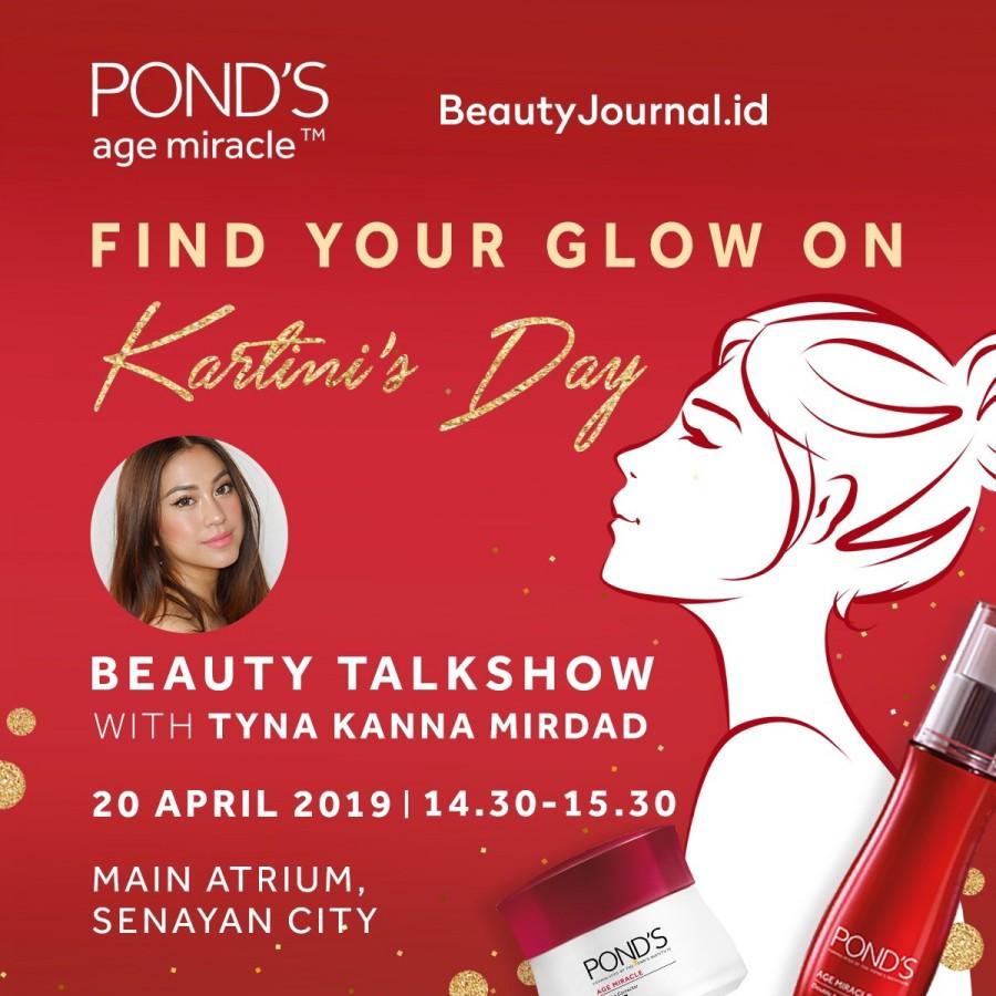 POND'S Talkshow Beauty With Tyna Kanna Mirdad