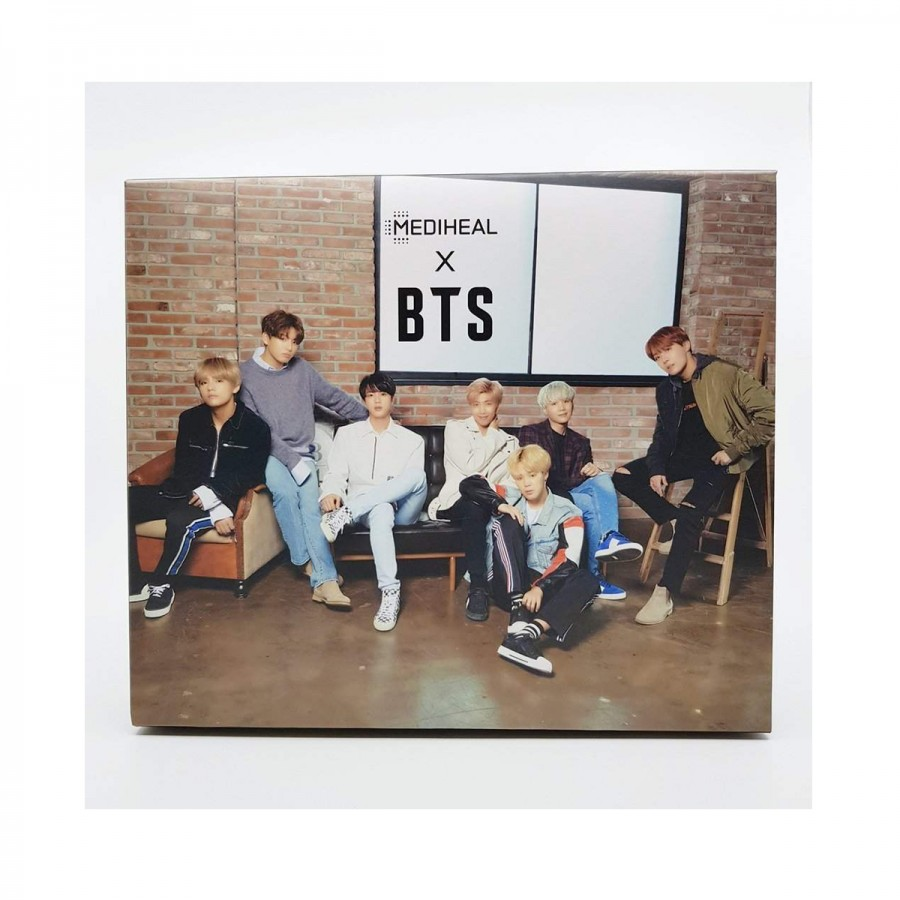 Mediheal X BTS Brightening Care Special Set (Teatree+WHP)