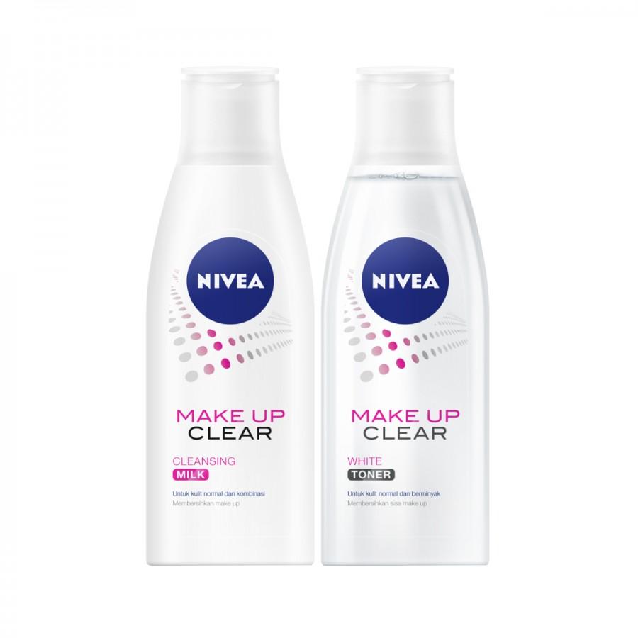 NIVEA Make Up Cleansing Milk & Toner Pack - Best Value Set