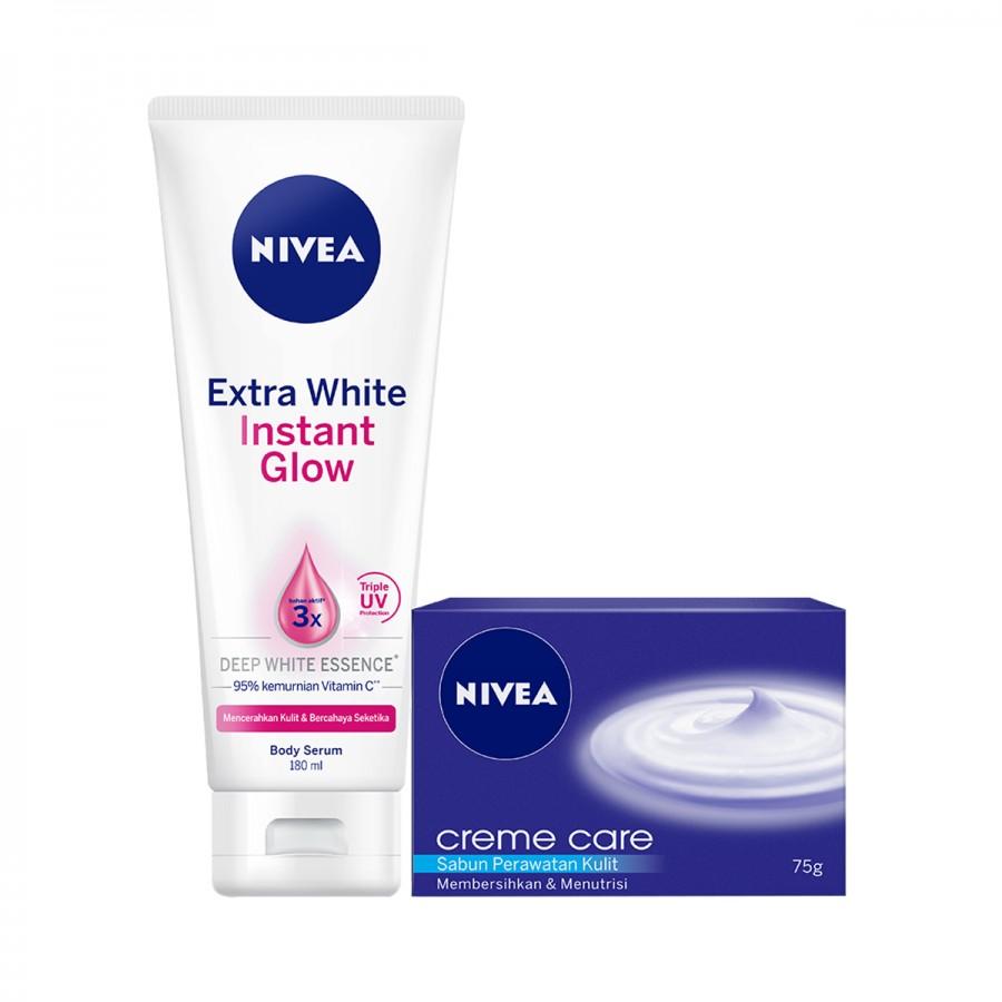 NIVEA Body Lotion & Soap Value Pack