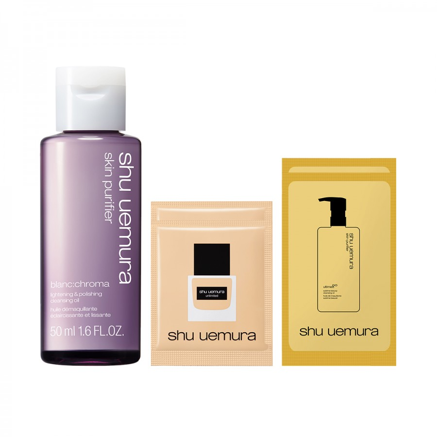 Blanc: Chroma Cleansing Oil Special Set