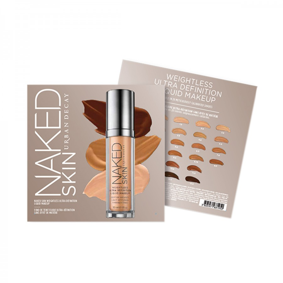 Naked Skin Foundation Sample