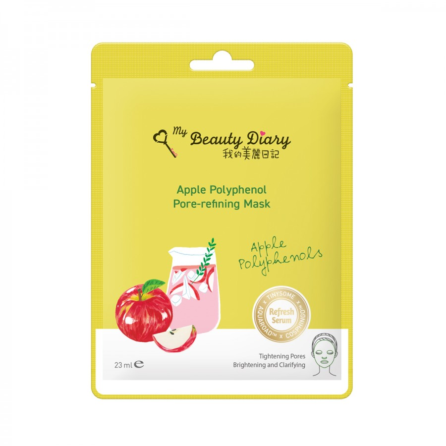 Apple Polyphenol Pore-Refining Mask