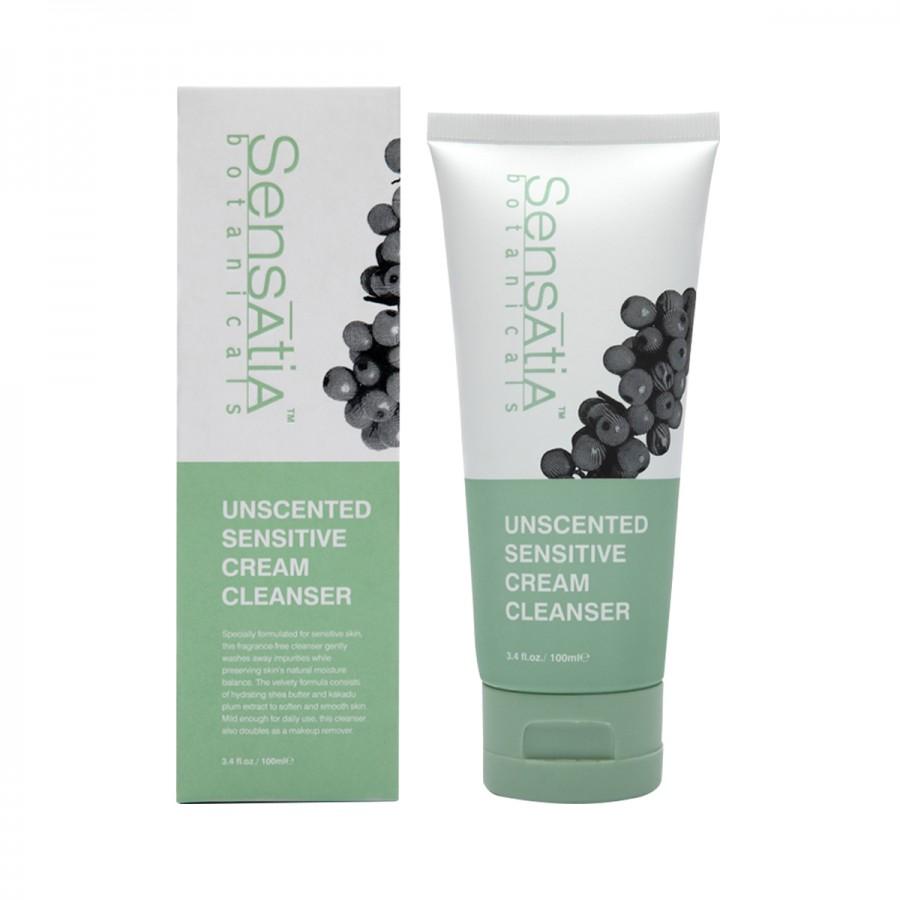 Unscented Sensitive Cream Cleanser - 100 ml