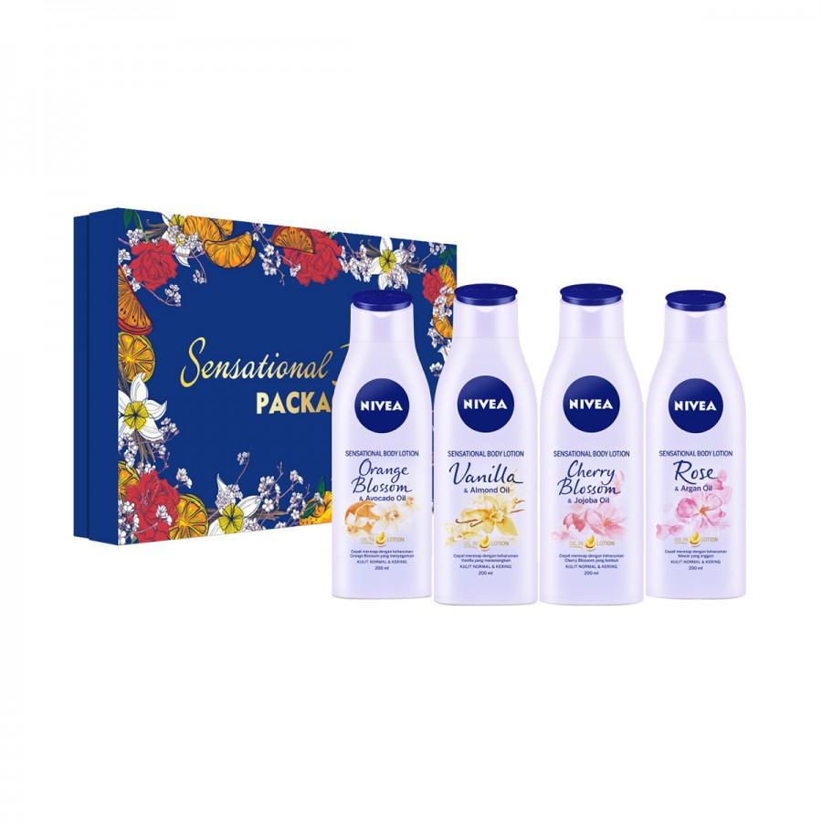 NIVEA Sensational Feeling Packages