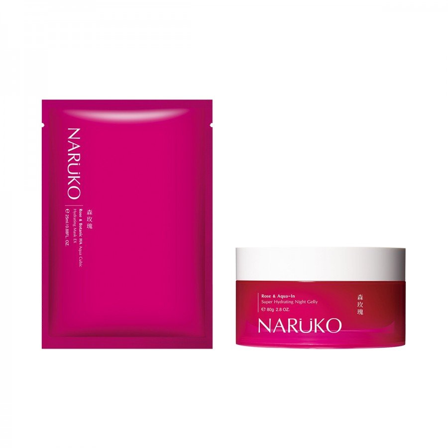 Rose Night Gelly & Mask