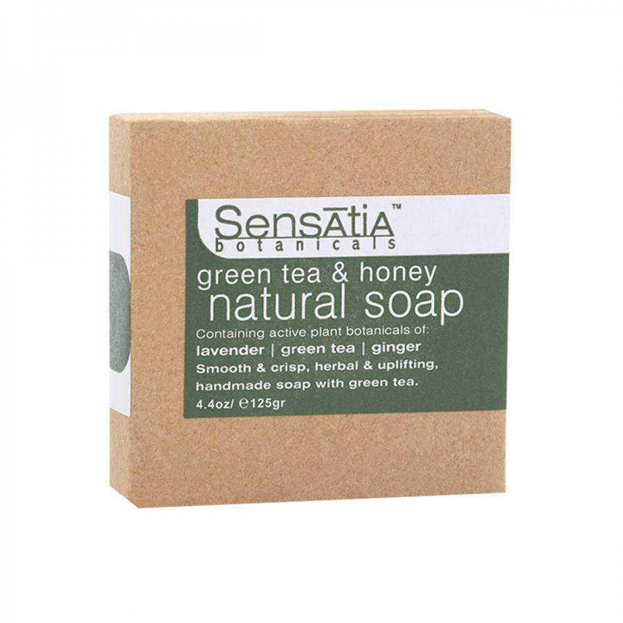 Green Tea & Honey Natural Soap - 125 gr