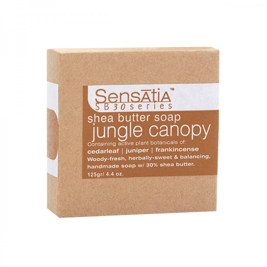 Jungle Canopy Shea Butter Soap - 125 gr