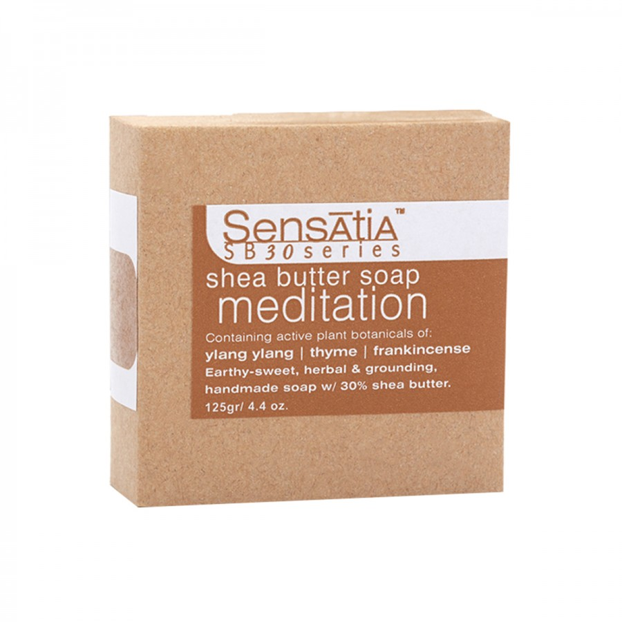Meditation Shea Butter Soap - 125 gr