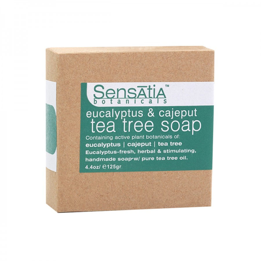 Eucalyptus & Cajeput Tea Tree Soap - 125 gr
