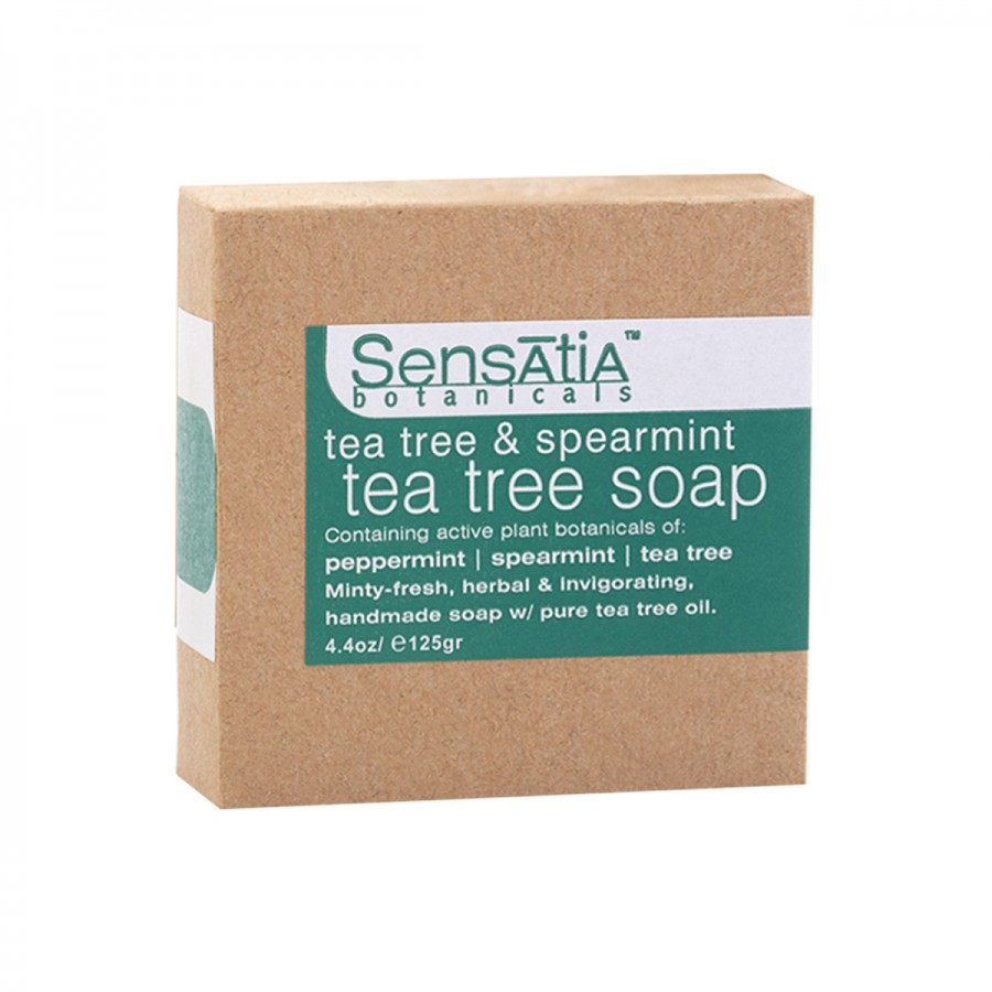 Tea Tree & Spearmint Tea Tree Soap - 125 gr