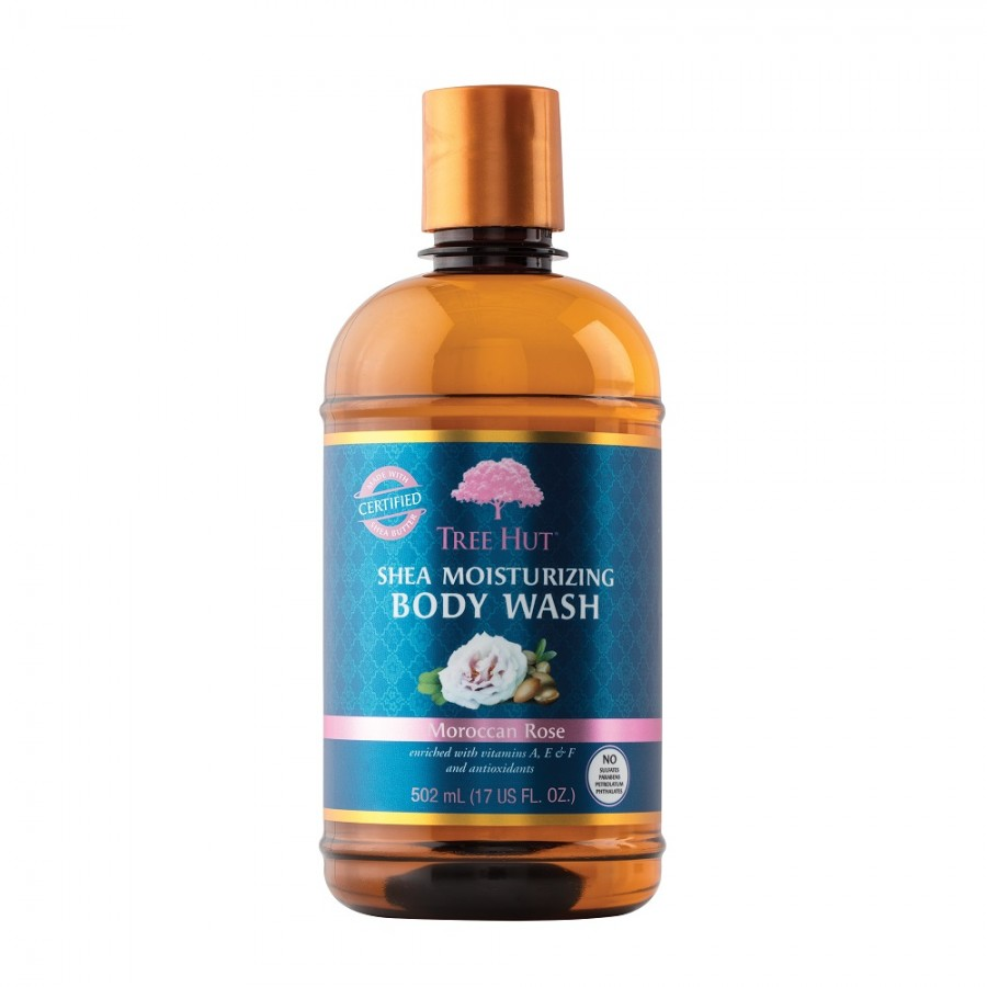 Moroccan Rose - Shea Body Wash