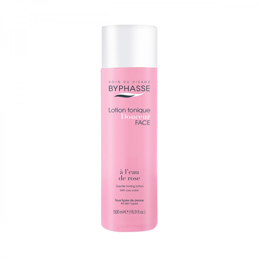 Gentle Toning Lotion With Rose Water All Skin Types