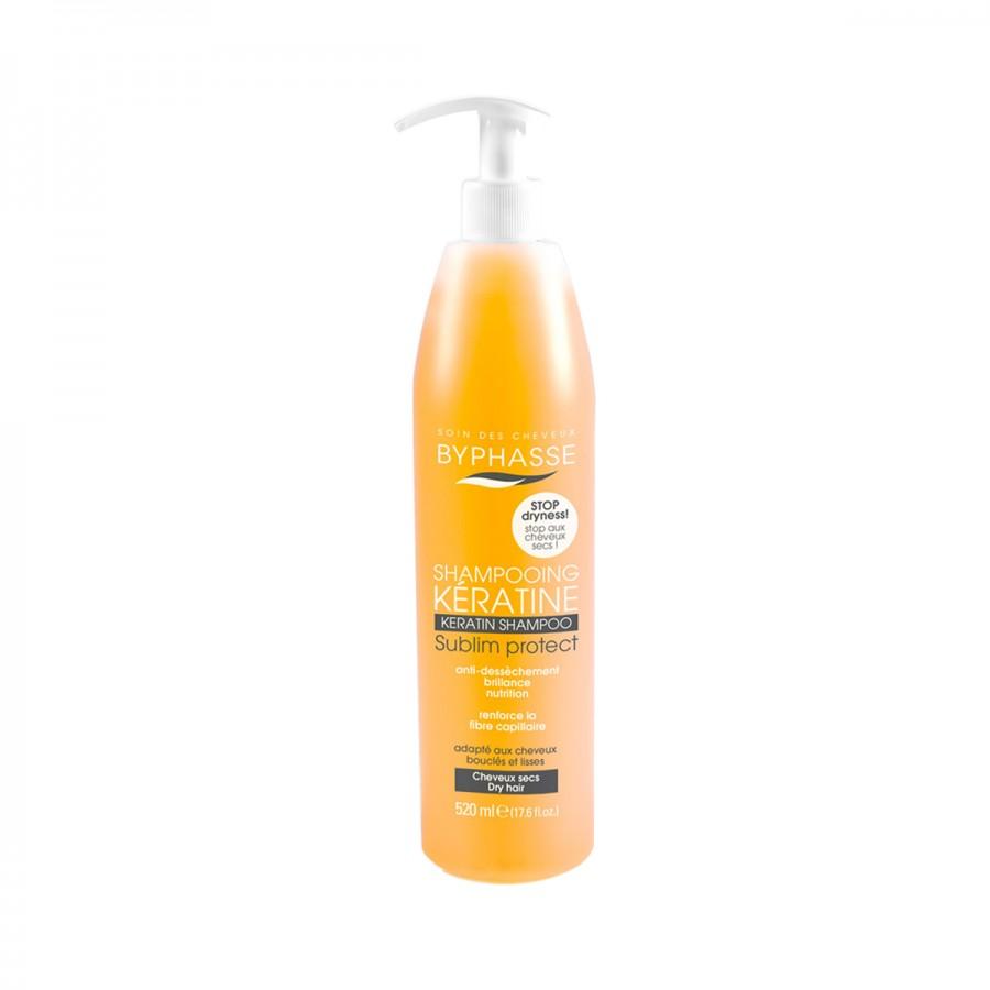 Shampoo With Liquid Keratin Dry Hair