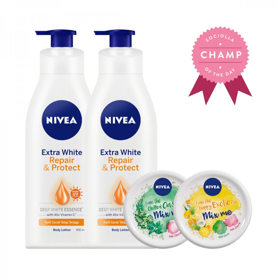 NIVEA Body Protection Value Pack