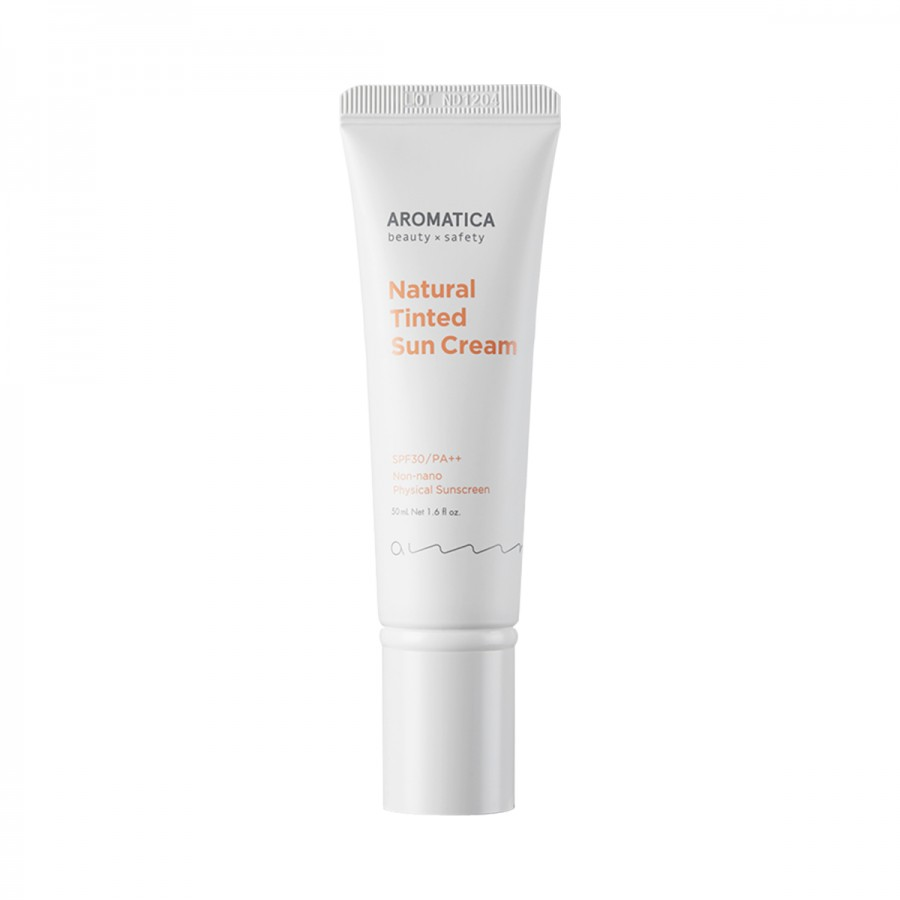 Natural Tinted Sun Cream Light Beige SPF30/PA++ Aromatica