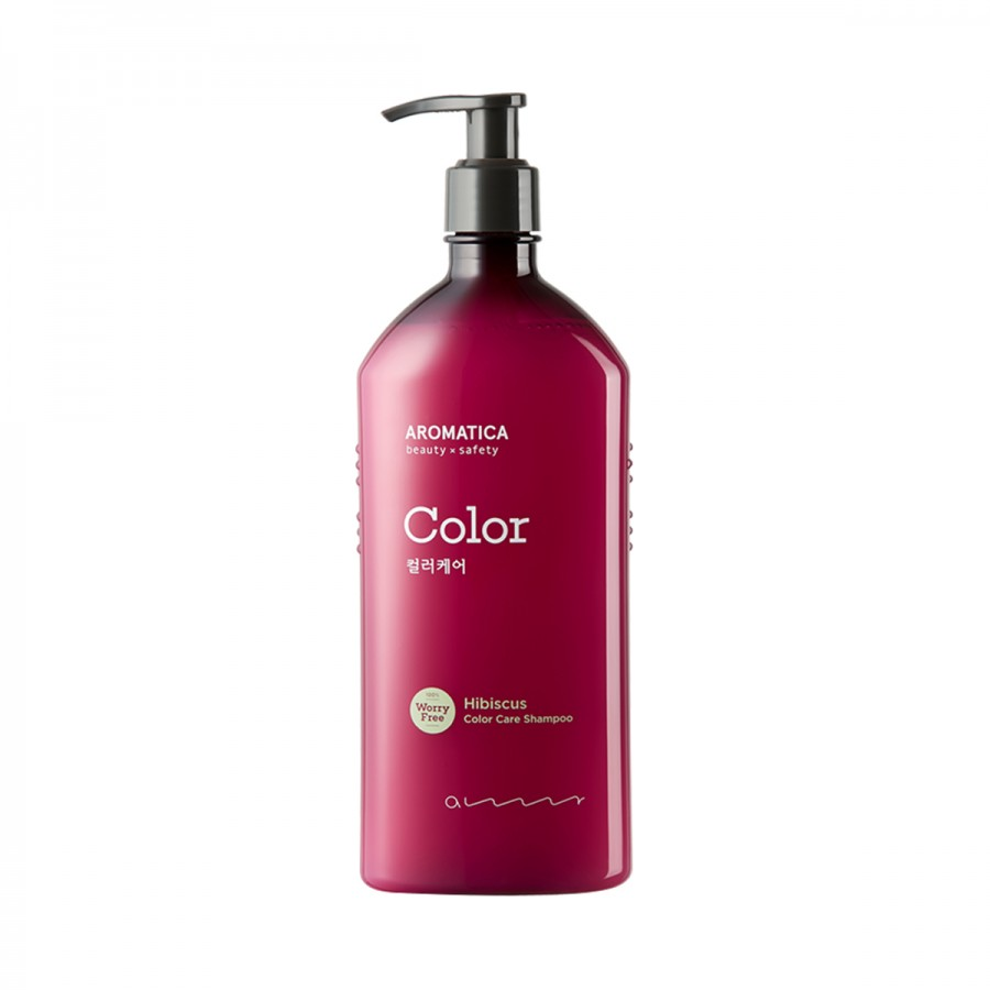 Hibiscus Color Care Shampoo Aromatica