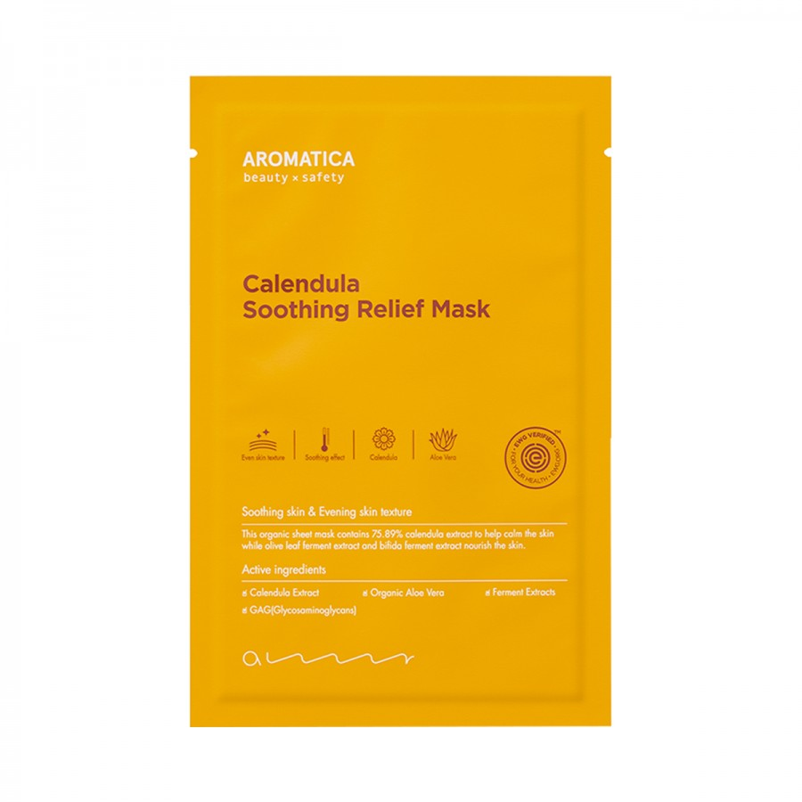 Calendula Soothing Relief Mask Aromatica Set(5pcs)