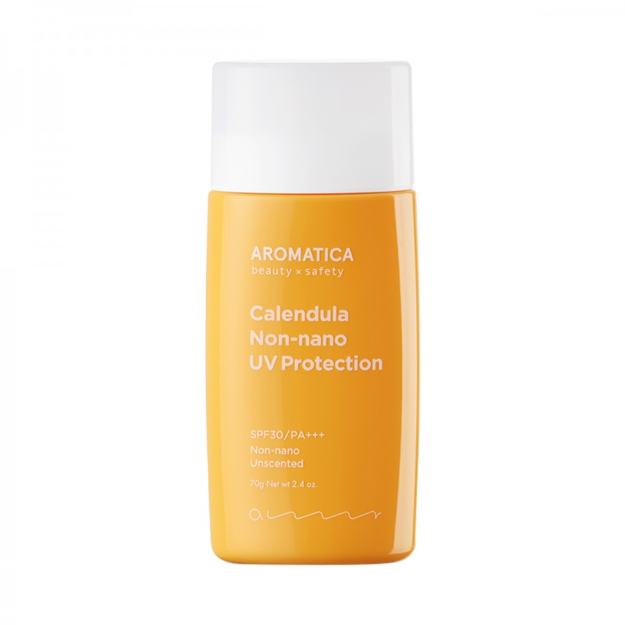 Calendula NON-NANO UV Protection Unscented SPF30/PA+++ Aromatica