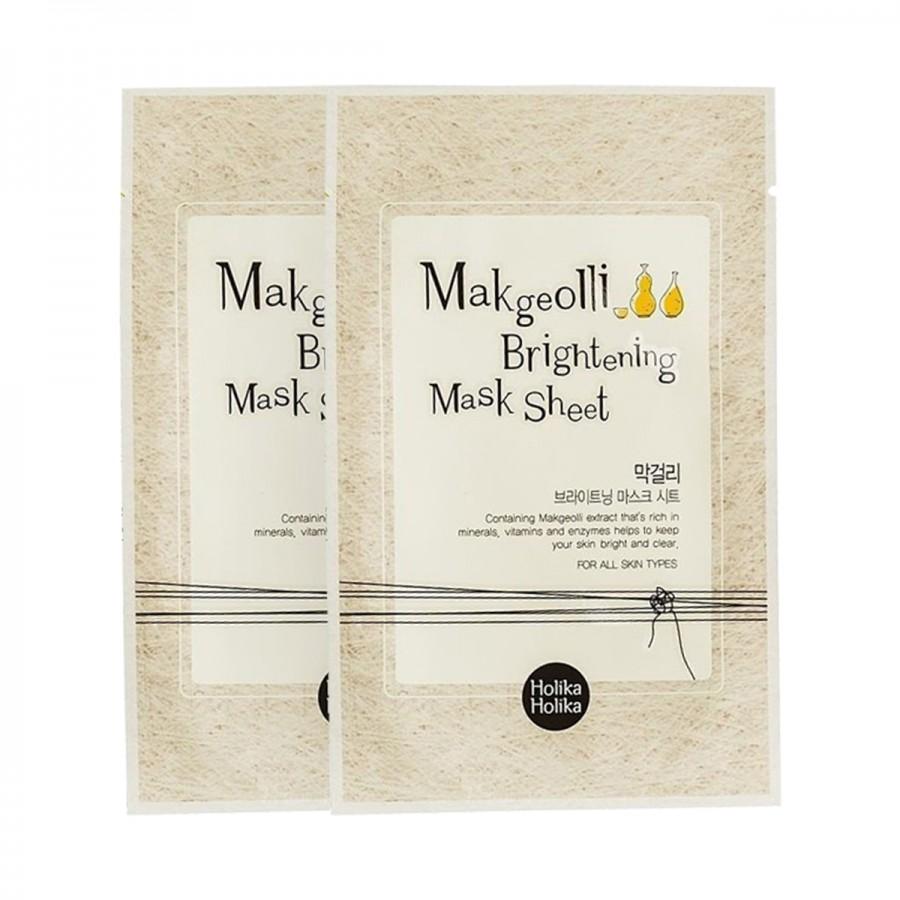 Makgeolli Brightening Mask Sheet (Buy 1 Get 1 Free)