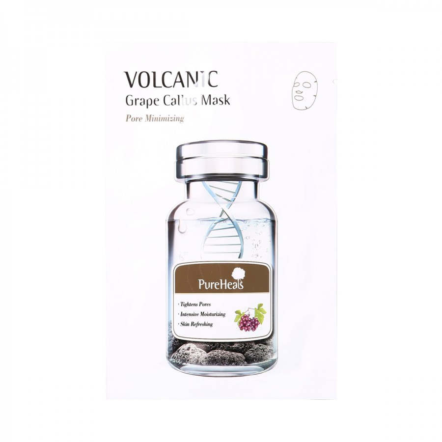 Pureheals Volcanic Grape Callus Mask Sheet 25g