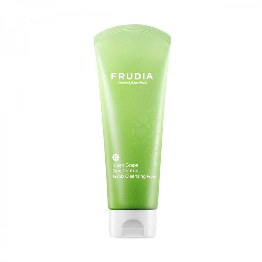Green Grape Pore Scrub Cleansing Foam