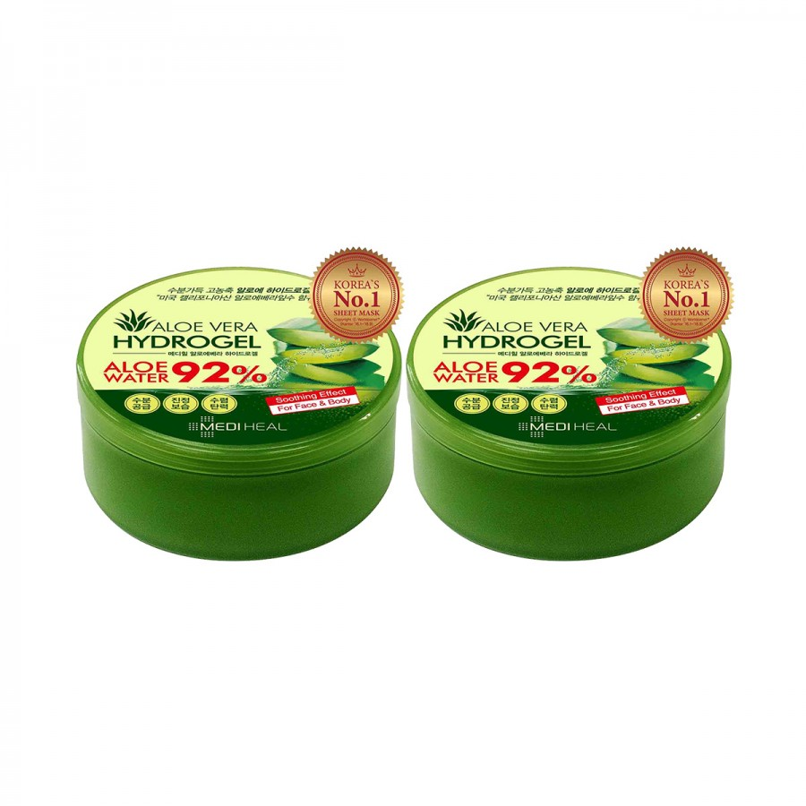 Mediheal Aloe Vera Hydrogel (92%) Duo Pack