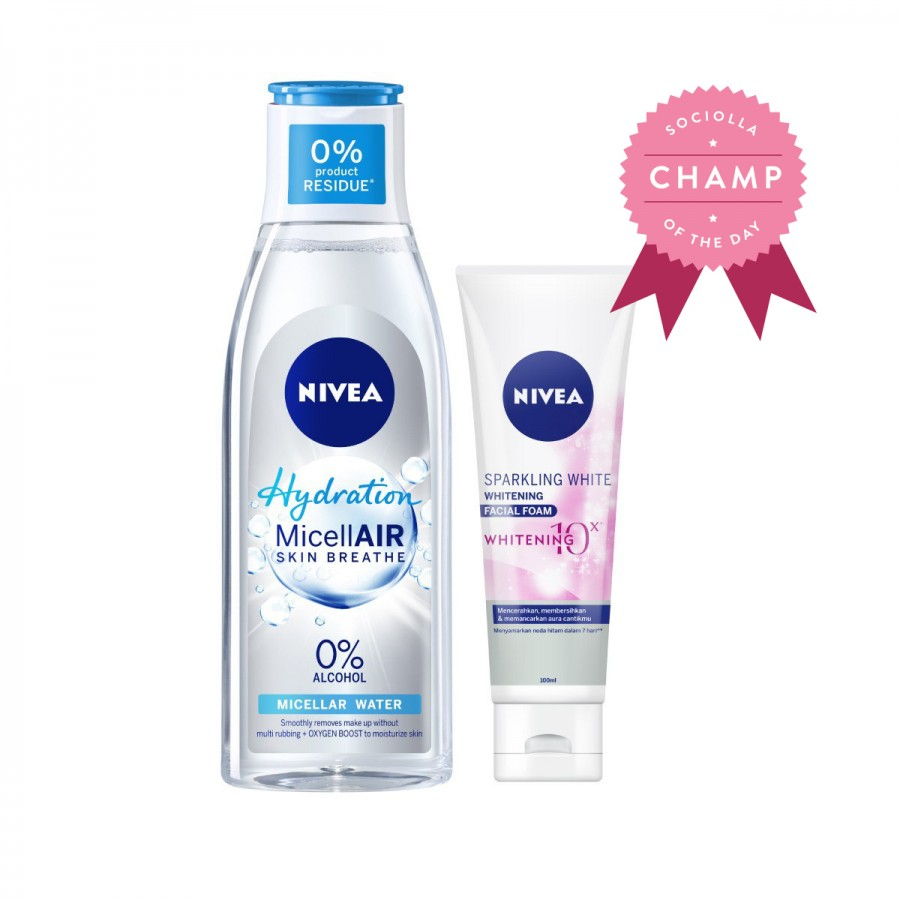 Nivea Hydration White Pack