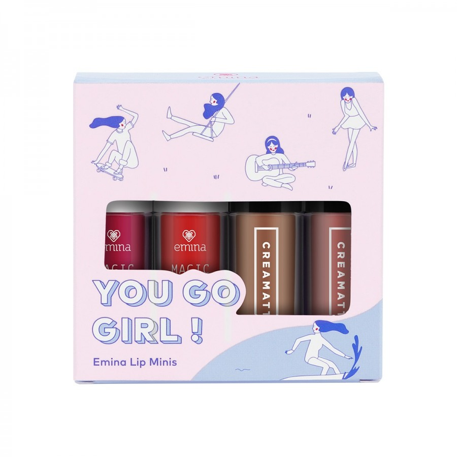 Jual Emina Lip Minis: You Go Girl! | Sociolla