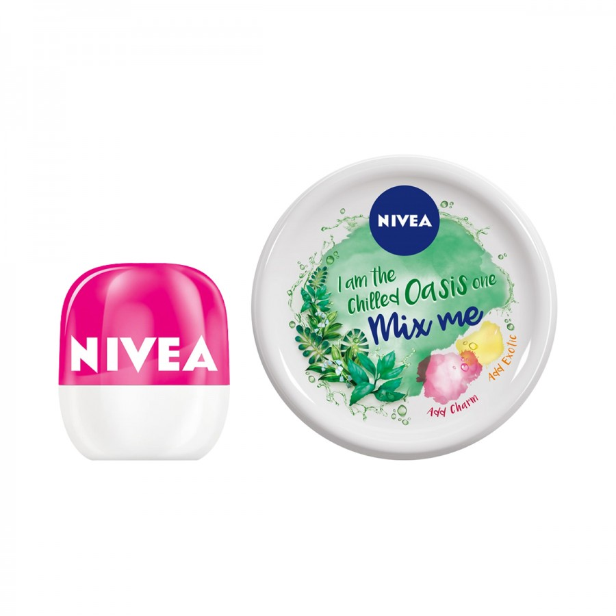 NIVEA Pop Ball + Mix Me